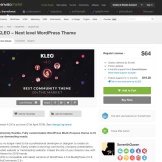 Themeforest: KLEO