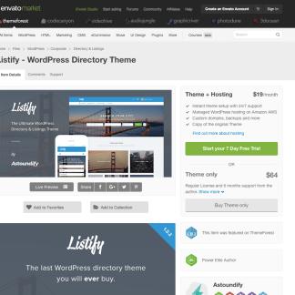 Themeforest: Listify