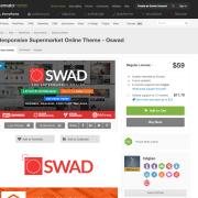 Themeforest: Responsive Supermarket Online Theme