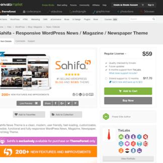 Themeforest: Sahifa