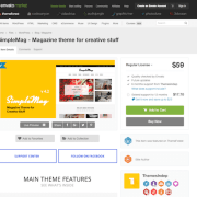 Themeforest: SimpleMag