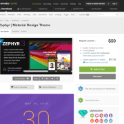 Themeforest: Zephyr