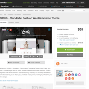Themeforest: ZORKA