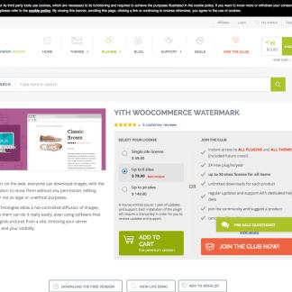 YITH WooCommerce: Watermark Premium