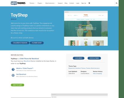 WooThemes: Toyshop