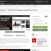 Themeforest: Barcelona