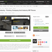 Themeforest: Industry
