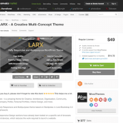 Themeforest: LARX