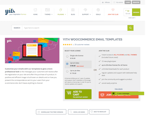 Free Email Templates Download | Yith Woocommerce Email Templates Premium Mvkoen