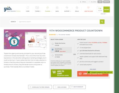 YITH WooCommerce: Product Countdown Premium