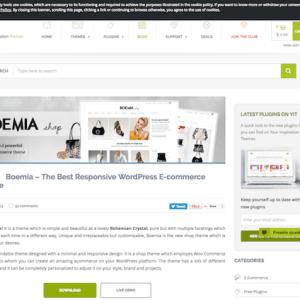YITH WooCommerce: Boemia