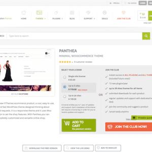 YITH WooCommerce: Panthea