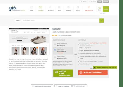 YITH WooCommerce: Socute