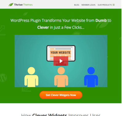 Thrive Themes Plugin: Clever Widgets