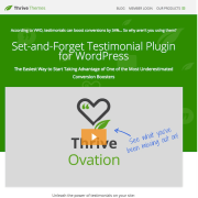 Thrive Themes Plugin: Ovation
