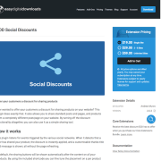 Easy Digital Downloads: Social Discounts