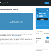 Easy Digital Downloads: Authorize.net Gateway