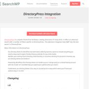 SearchWP: DirectoryPress Integration