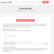 SearchWP: Fuzzy Matches