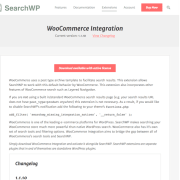 SearchWP: WooCommerce Integration