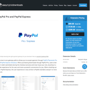 Easy Digital Downloads: PayPal Website Payments Pro and PayPal Express Gateway