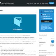 Easy Digital Downloads: Wallet