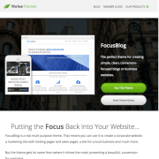 Thrive Themes: Focusblog WordPress Theme