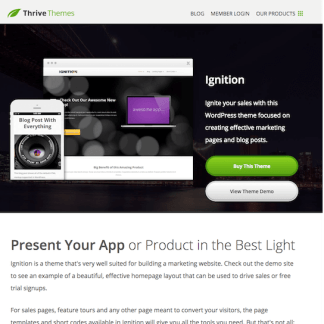 Thrive Themes: Ignition WordPress Theme