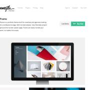 ThemeZilla: Frame WordPress Theme