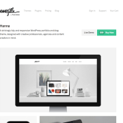 ThemeZilla: Hanna WordPress Theme