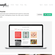 ThemeZilla: Hoarder WordPress Theme