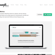 ThemeZilla: Motive WordPress Theme