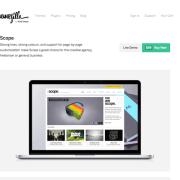 ThemeZilla: Scope WordPress Theme