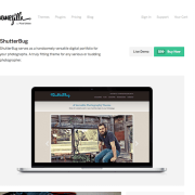 ThemeZilla: Shutterbug WordPress Theme