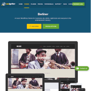 CSS Igniter: Berliner WordPress Theme