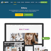 CSS Igniter: Brittany WordPress Theme