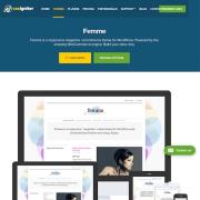 CSS Igniter: Femme WordPress Theme