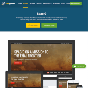 CSS Igniter: Space9 WordPress Theme