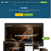 CSS Igniter: Oscillator WordPress Theme