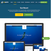 CSS Igniter: Sun Resort WordPress Theme