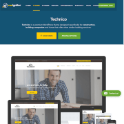 CSS Igniter: Technico WordPress Theme