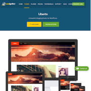 CSS Igniter: Uberto WordPress Theme