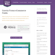 Gravity Perks: eCommerce Fields