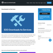 Easy Digital Downloads: Downloads As Services
