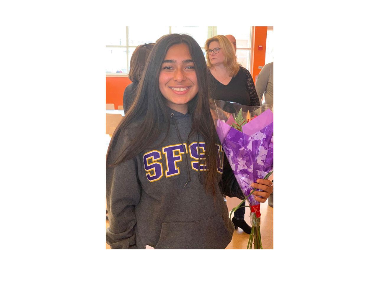Congratulation Natalie Navarro - 02G City ECNL
