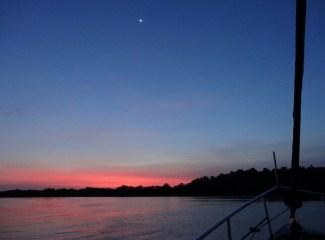 Sunset at Pinagdagatan Point