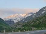 Daybreak on St Gotthard Pass