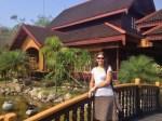 Sandra at Hupin KD Hotel (Inle Lake)