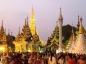 Shwedagon Crowd