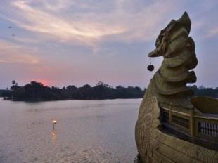 Sunset Over Kandawgyi Lake